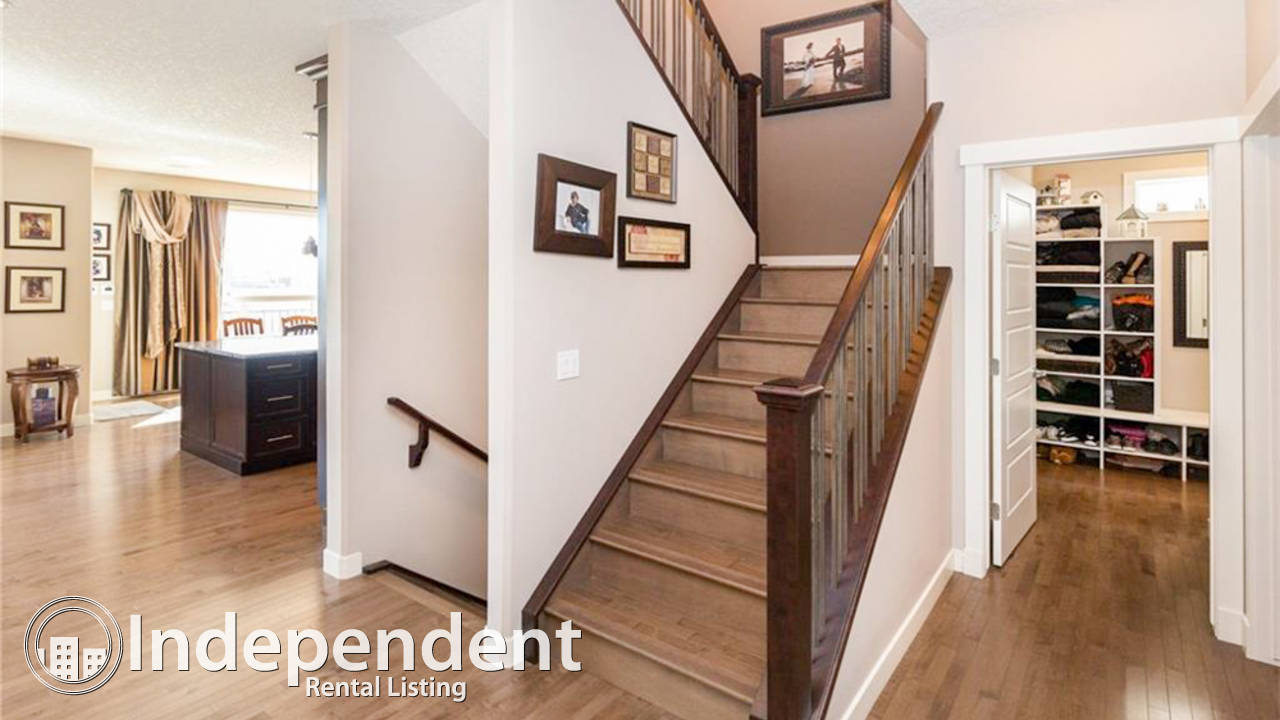 Gorgeous 4 Bedroom House With Walk Out Basement For Rent